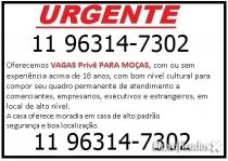 Vagas para Mulheres no Centro de São Paulo